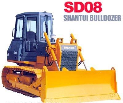 Бульдозер SHANTUI SD08 (Komatsu D31)