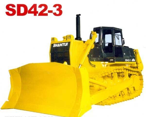Тяжёлый бульдозер SHANTUI SD42-3